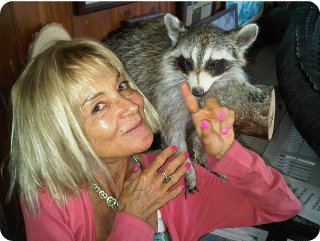 Debbie And Racoon
